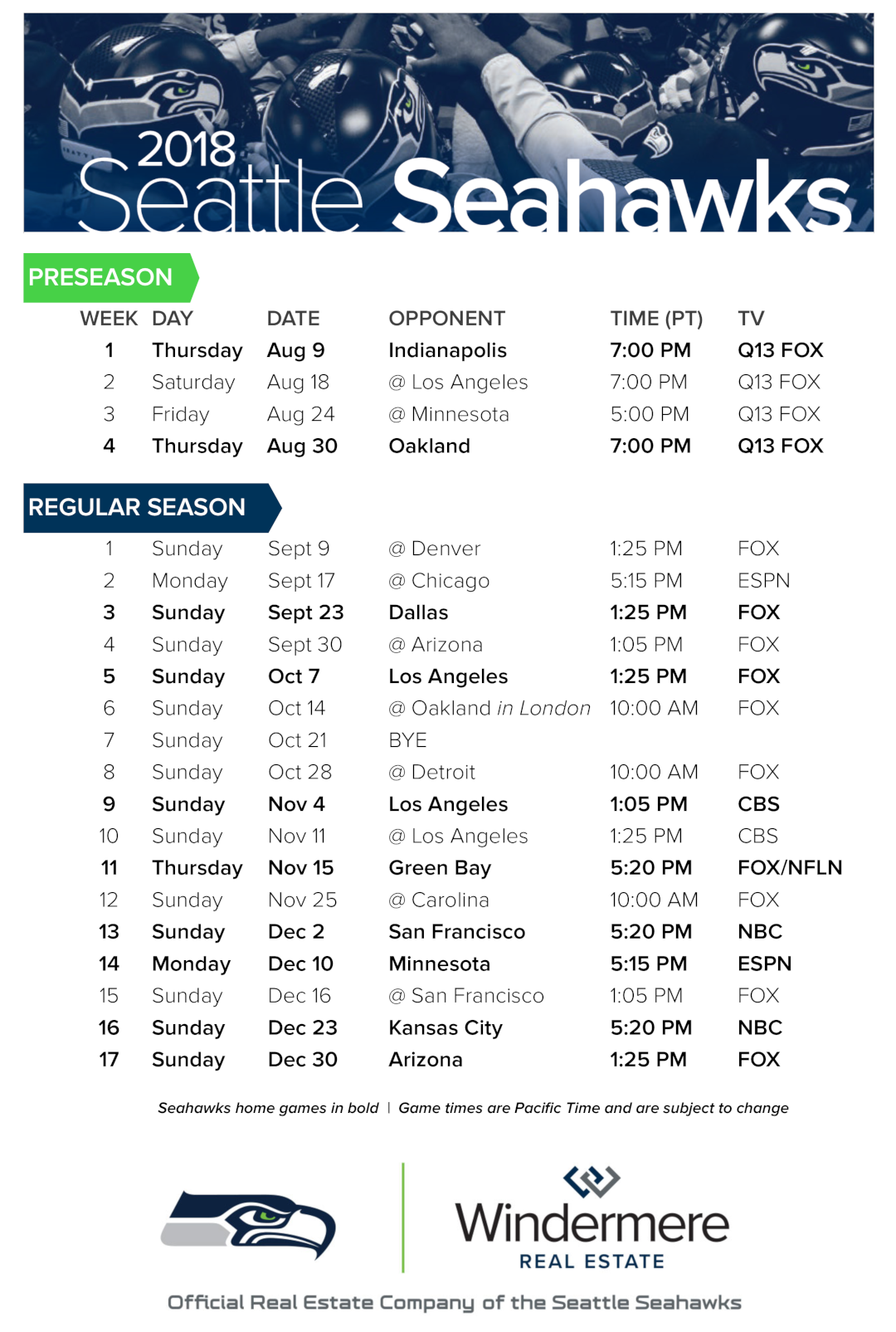 Adorable image regarding printable seahawks schedule